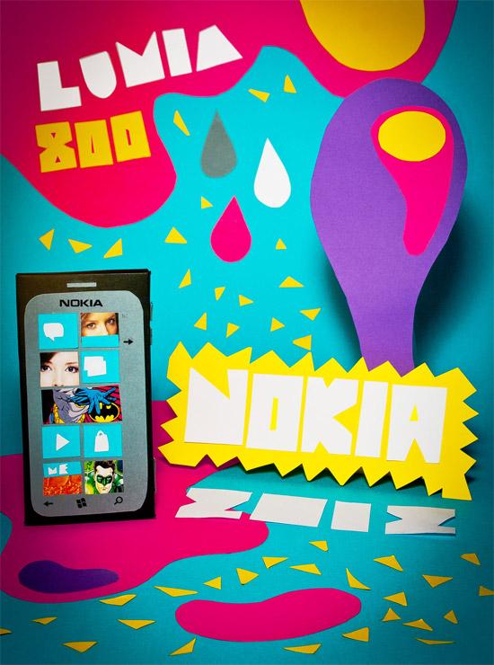 Creatividad de koronas para nokia propositos 2012